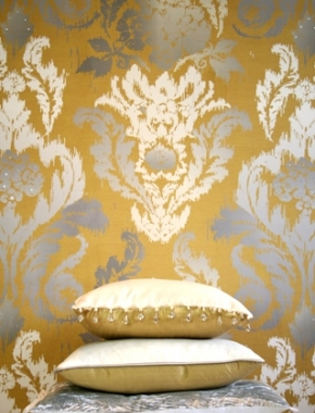 New Ikat Wallpaper Florence Phoenix Collection