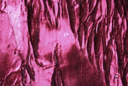 Crystallized Crushed Velvet Velvet Range Claret Collection
